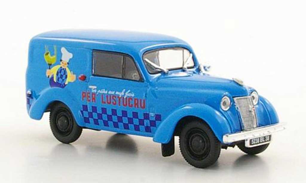 Renault Juvaquatre 1/43 Norev Break Lustucru diecast