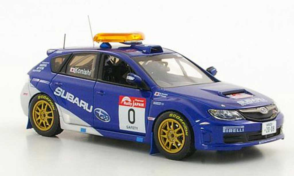 Subaru Impreza WRX 1/43 J Collection STI Gr.N No.0 S.Konishi / E.Osawa Rally Japan 2008 miniature