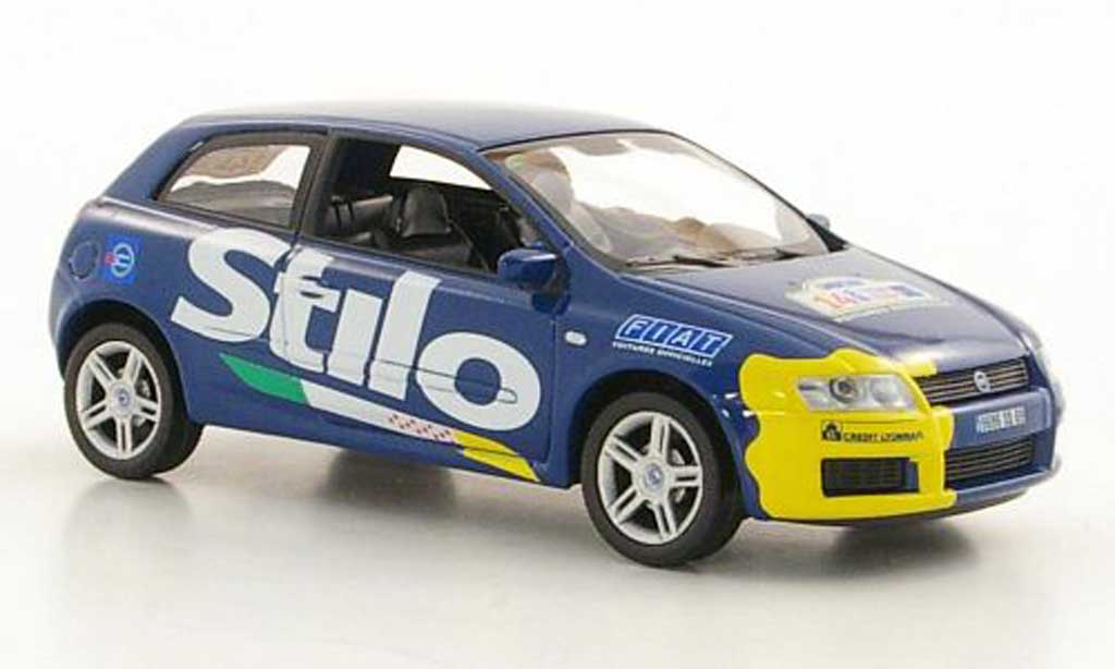 Fiat Stilo 1/43 Norev  Credit Lyonnais Tour de France 2002