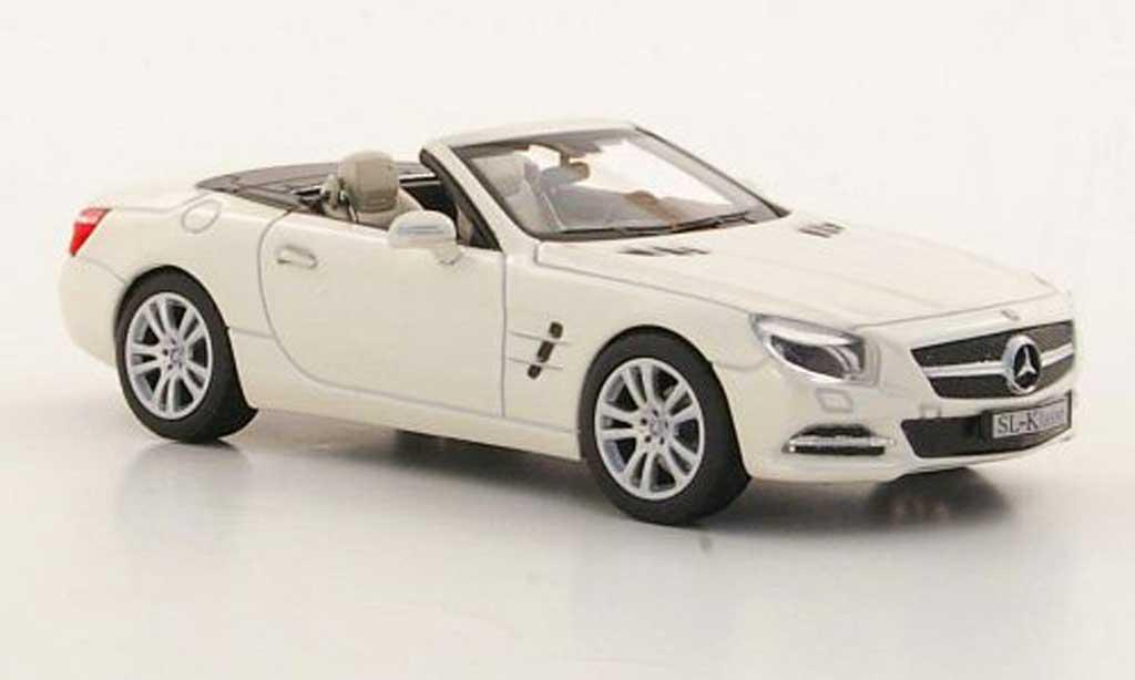 Mercedes Classe SL 1/43 Norev (R231) blanche 2012 miniature
