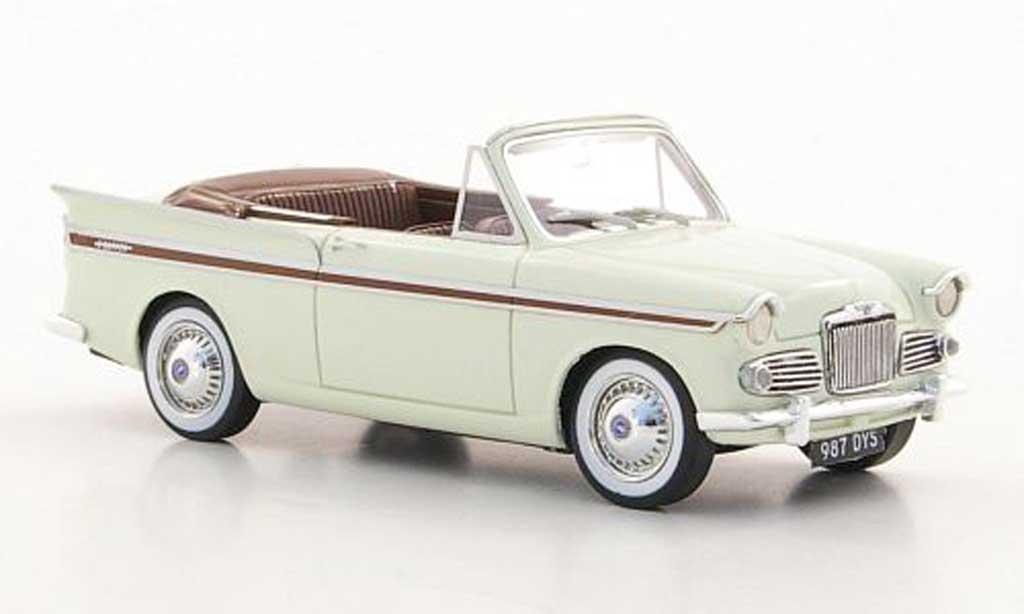 Sunbeam Rapier 1/43 Silas Models Series IIIa Convertible beige/marron 1961 miniature