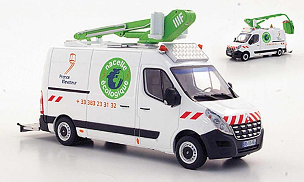 Renault Master 1/43 Eligor France Elevateur avec Hubarbeitsbuhne miniature