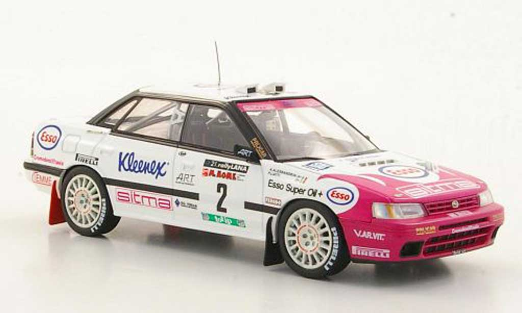 Subaru Legacy RS 1993 1/43 HPI No.2 P.Liatti / A.Alessandrini Rally Lana miniature