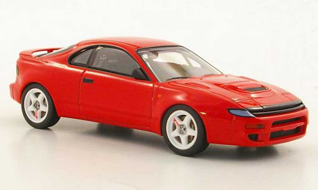 Toyota Celica Gr.A 1/43 HPI Turbo 4WD rouge miniature