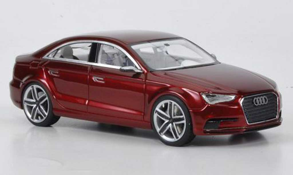 Audi A3 1/43 Look Smart Concept rouge miniature