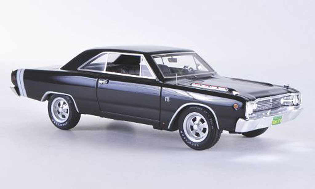 Dodge Dart 1968 1/43 Highway 61 GTS black/white diecast model cars