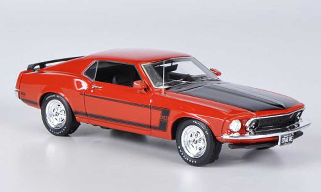 Ford Mustang 1969 1/43 Highway 61 Boss 302 rouge miniature