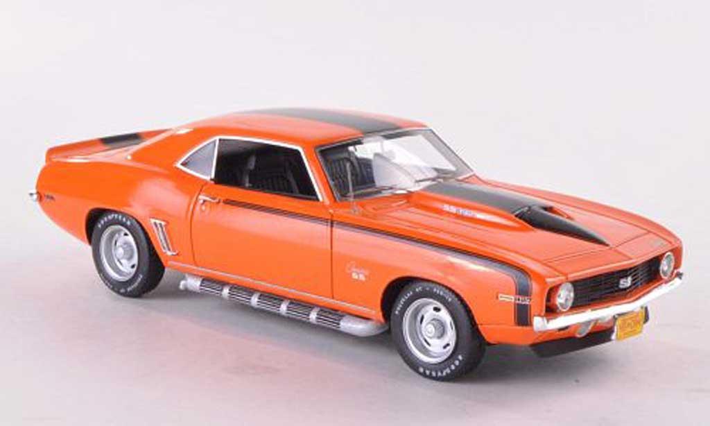 Chevrolet Camaro SS 1/43 Highway 61 427 orange/noire 1969 miniature