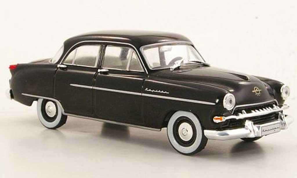 Opel Kapitan 1/43 Hachette noire (ohne Magazin) 1954 miniature