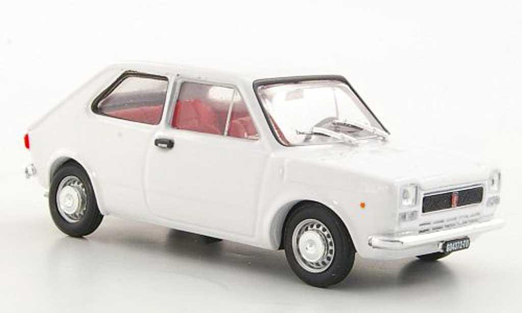 Fiat 127 1/43 Brumm white 1971 diecast model cars