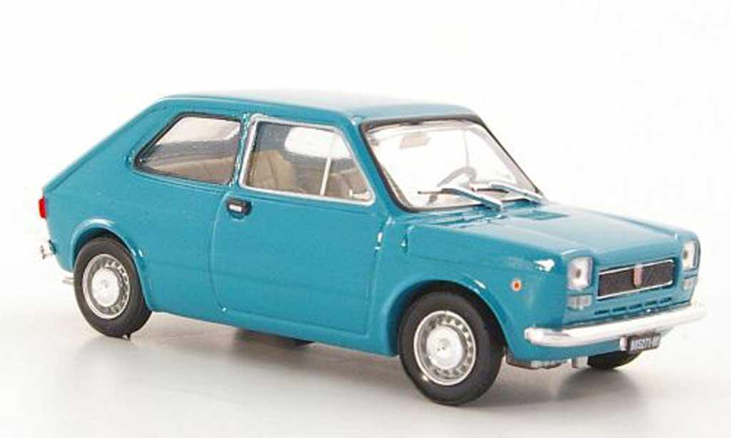 Fiat 127 1/43 Brumm bleu grun 1971 diecast model cars