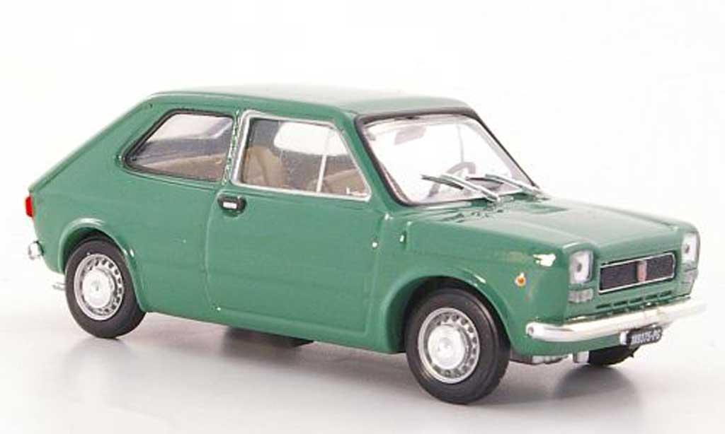 Fiat 127 1/43 Brumm grun 1971 miniature