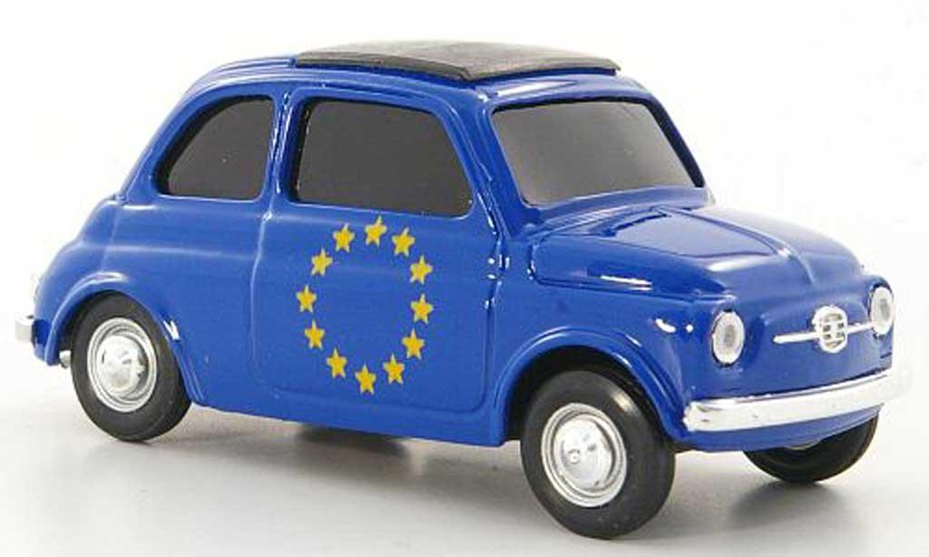Fiat 500 1/43 Brumm 'Europa'' miniature