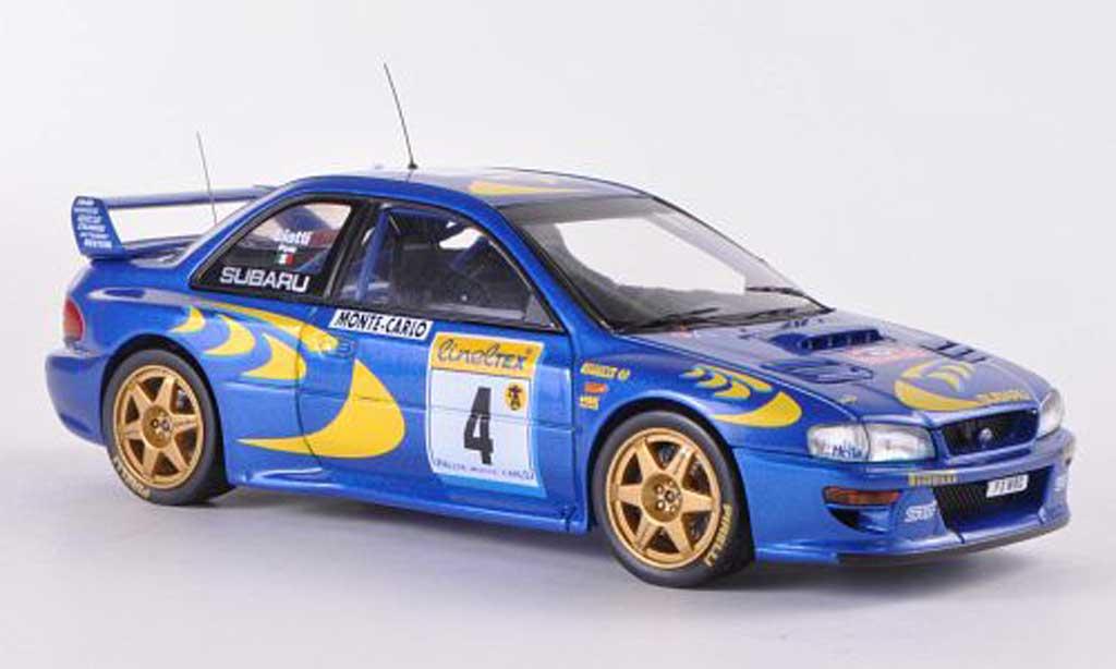 Subaru Impreza WRC 1/43 HPI 97 No.4 P.Liatti / F.Pons Rally Monte Carlo  1997 miniature
