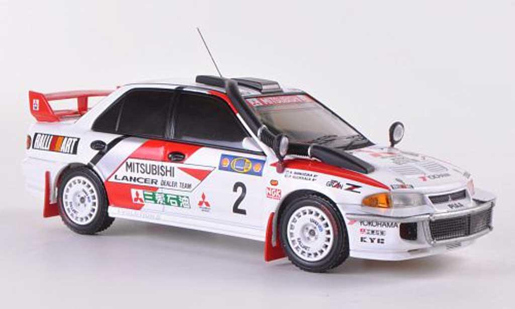 Mitsubishi Lancer Evolution III 1/43 HPI No.2 RalliArt K.Shinozuka / P.Kuukkala Safari Rally  1995 miniature