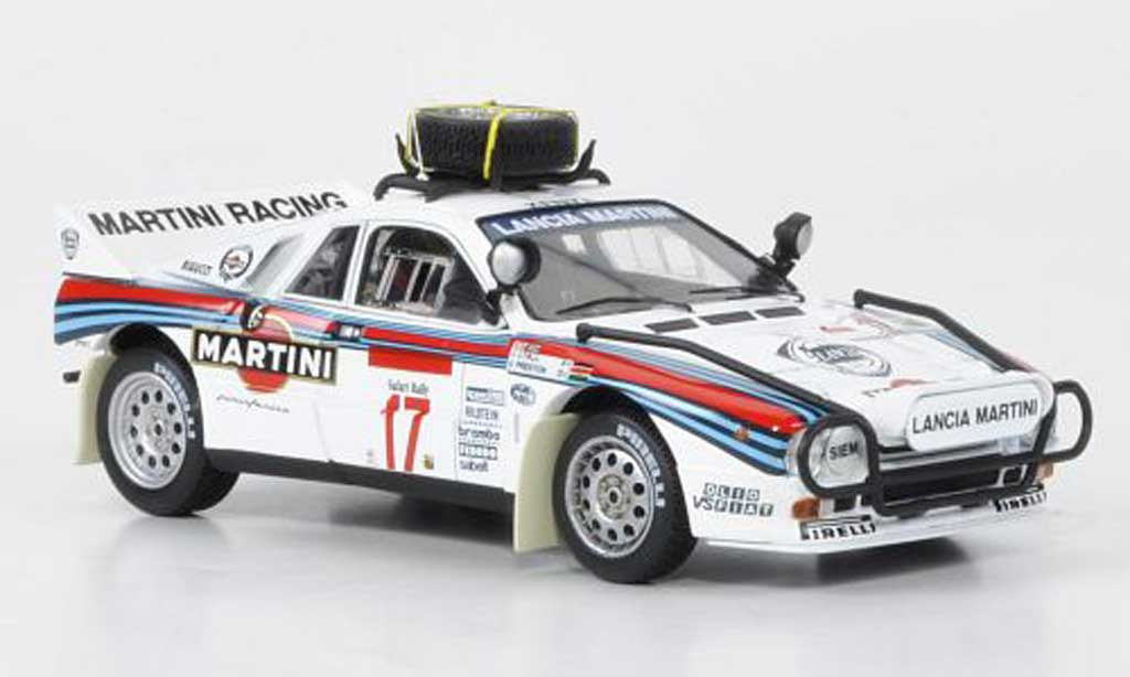Lancia 037 1/43 HPI Rally No.17 Martini Safari Rally 1984 miniature