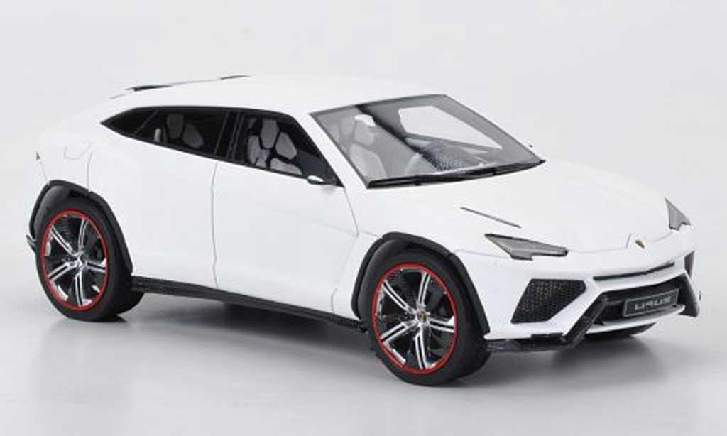 Lamborghini Urus 1/43 Look Smart mattwhite Motorshow Peking 2012 diecast model cars