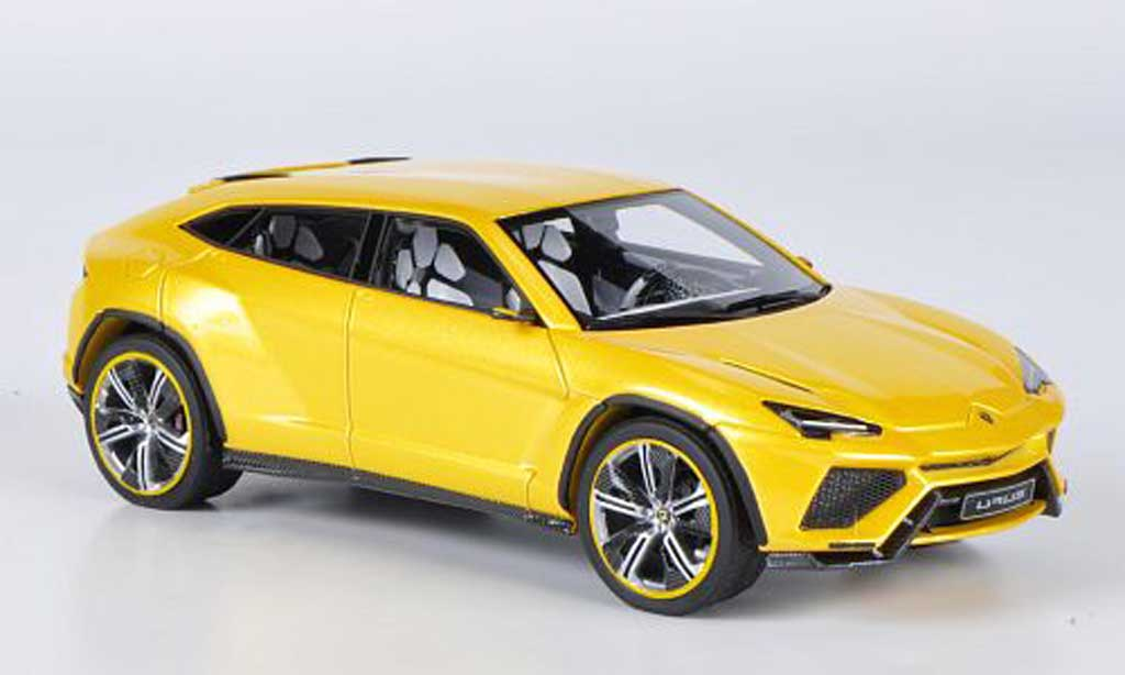 Lamborghini Urus 1/43 Look Smart yellow Motorshow Peking 2012 diecast