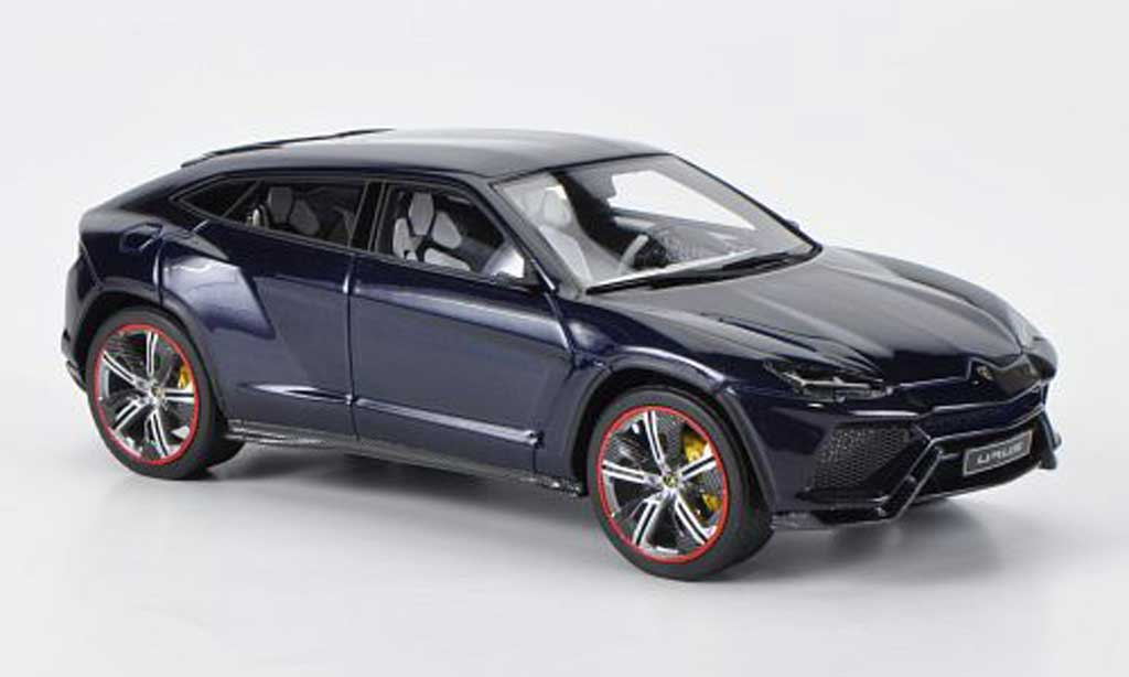 Lamborghini Urus 1/43 Look Smart bleu Motorshow Peking 2012 diecast model cars