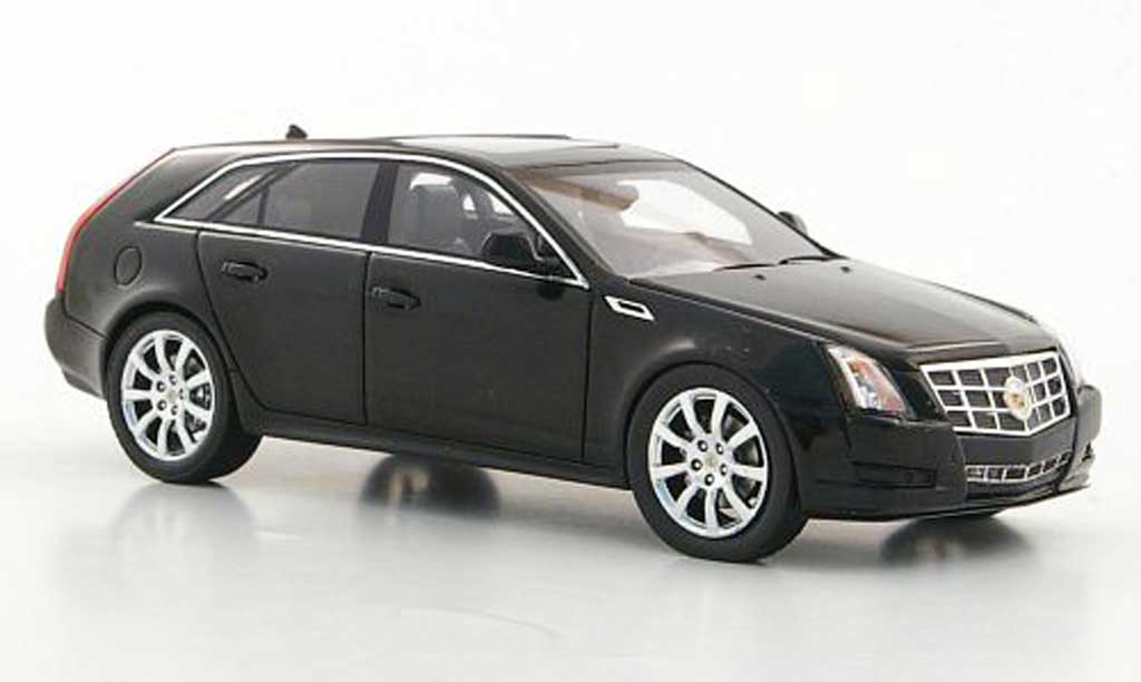Cadillac CTS 1/43 Luxury Collectibles Station Wagon noire 2011 miniature