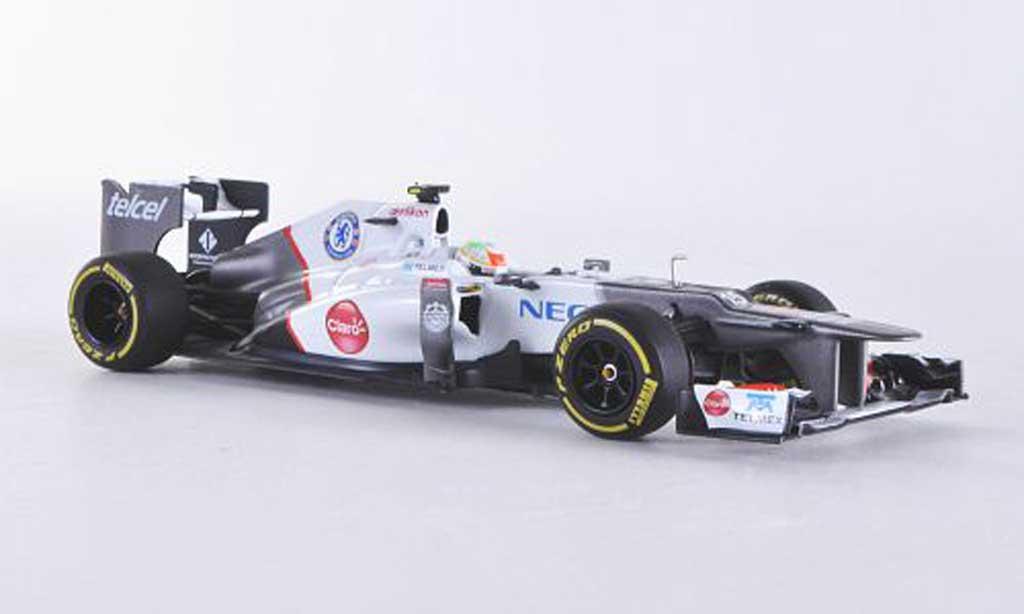 Sauber F1 2012 1/43 Minichamps C31-Ferrari No.15 S.Perez -Saison miniature