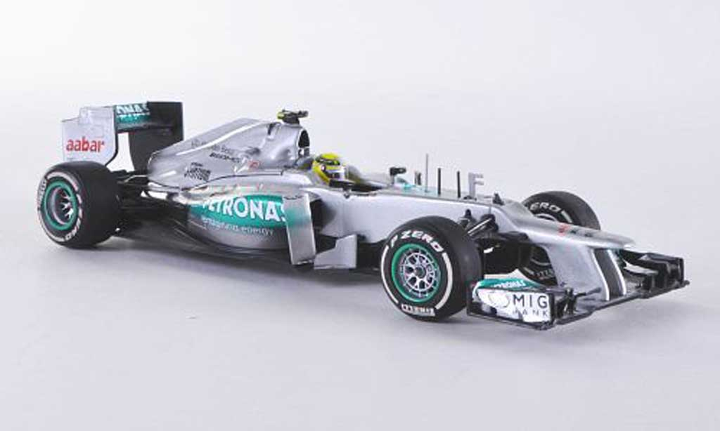 Mercedes F1 2012 1/43 Minichamps Team W03 No.8 AMG Petronas N.Rosberg GP China miniature