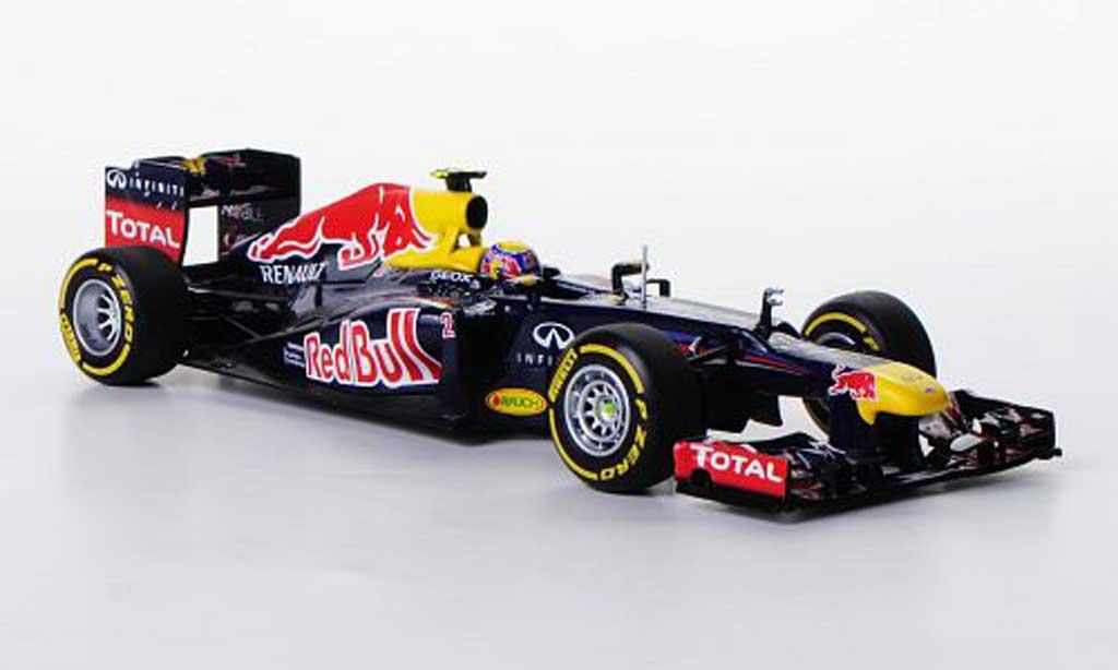 Red Bull F1 2012 1/43 Minichamps Racing Renault RB8 No.2 M.Webber Saison