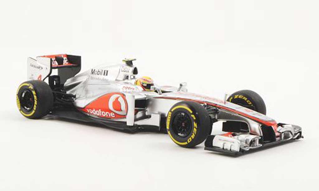 McLaren F1 2012 1/43 Minichamps Mercedes MP4-27 No.4 Vodafone L.Hamilton F1 saison miniature