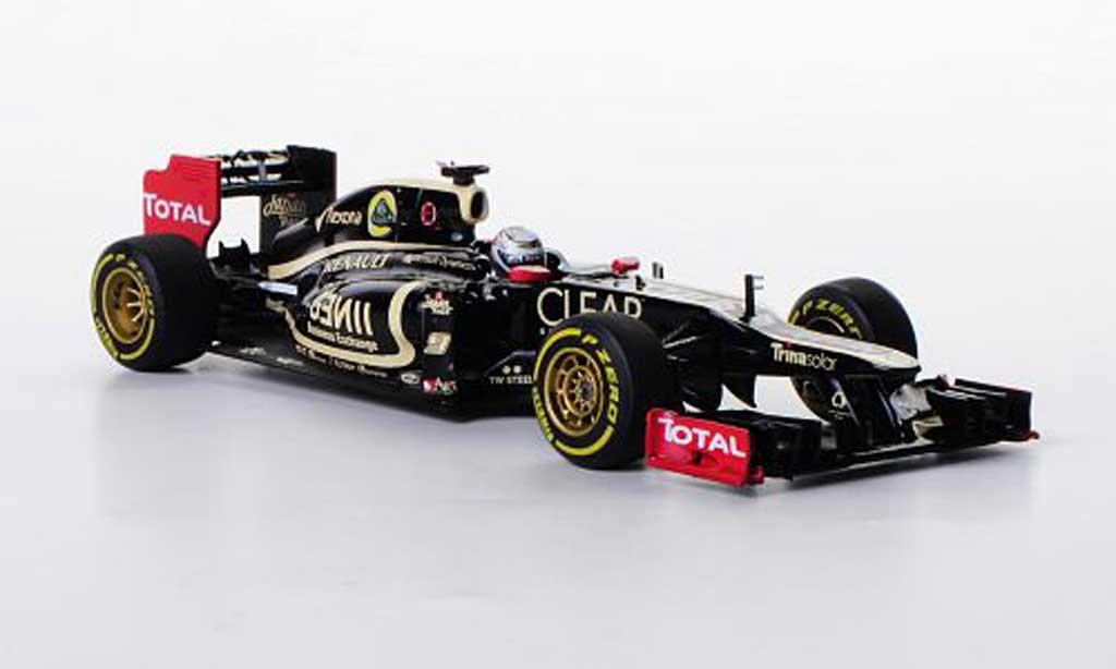 Lotus F1 2012 1/43 Minichamps F1 Team Renault E20 No.9 K.Raikkonen F1 Saison miniatura