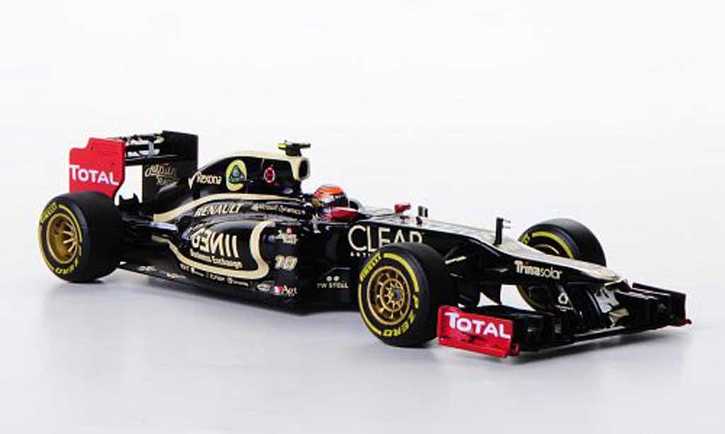 Lotus F1 2012 1/43 Minichamps F1 Team Renault E20 No.10 R.Grosjean F1 Saison miniatura