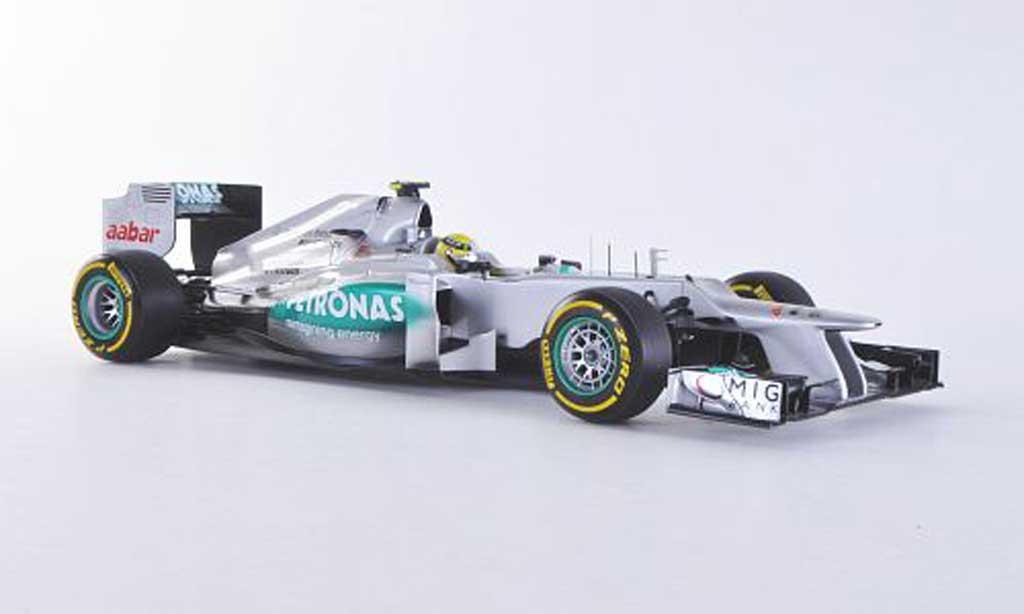 Mercedes F1 2012 1/18 Minichamps AMG Petronas W03 No.8 N.Rosberg F1-Saison diecast