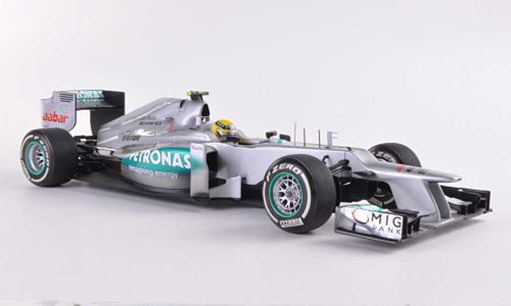 Mercedes F1 2012 1/18 Minichamps Team W03 No.8 AMG Petronas GP China N.Rosberg miniature