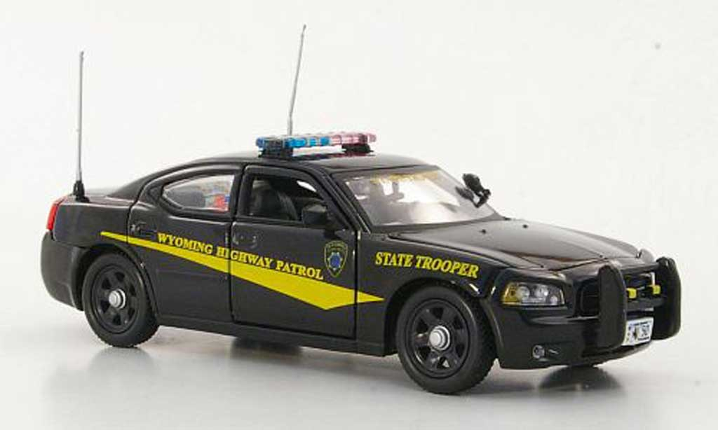 Dodge Charger Police 1/43 First Response Charger Wyoming Highway Patrol - State Trooper Polizei (US) miniatura