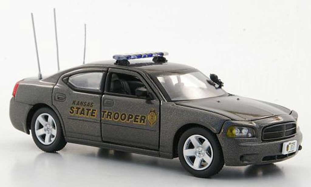 Dodge Charger Police 1/43 First Response Charger Kansas Highway Patrol - State Trooper Polizei (US) diecast