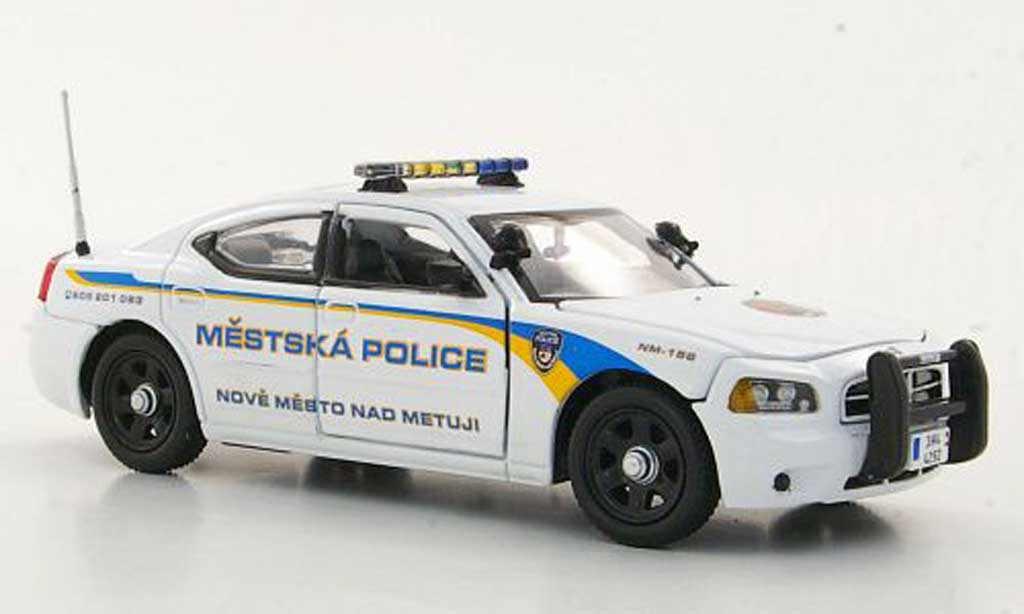 Dodge Charger Police 1/43 First Response Charger Mestska Policie Polizei (CZ) diecast