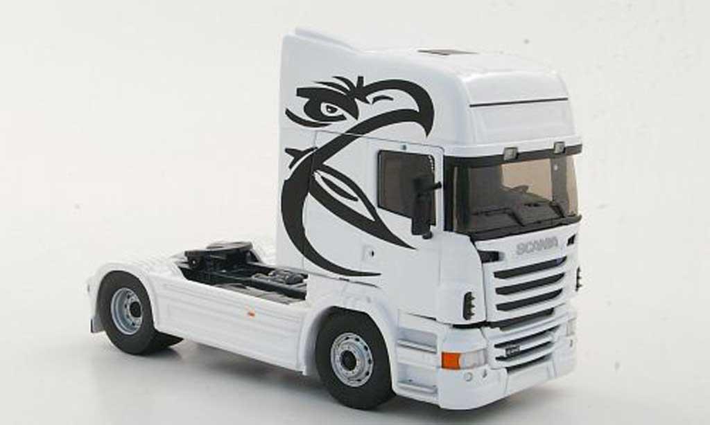 Scania Serie R 1/43 Eligor R440 Topline blanche miniature