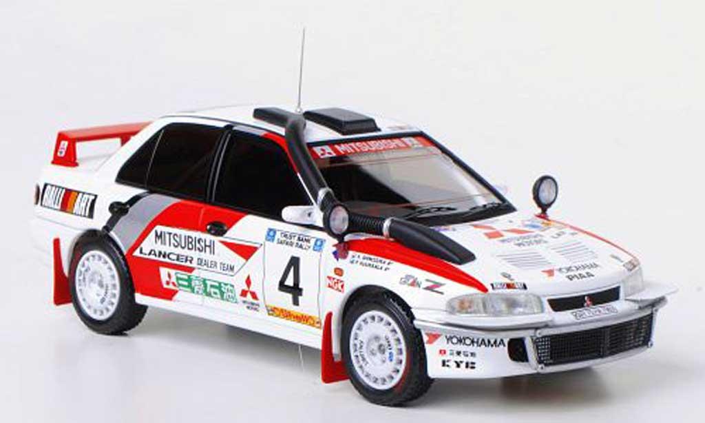 Mitsubishi Lancer Evolution II 1/43 HPI No.4 RalliArt P.Kuukkala / K.Shinozuka Safari Rally 1994 miniature