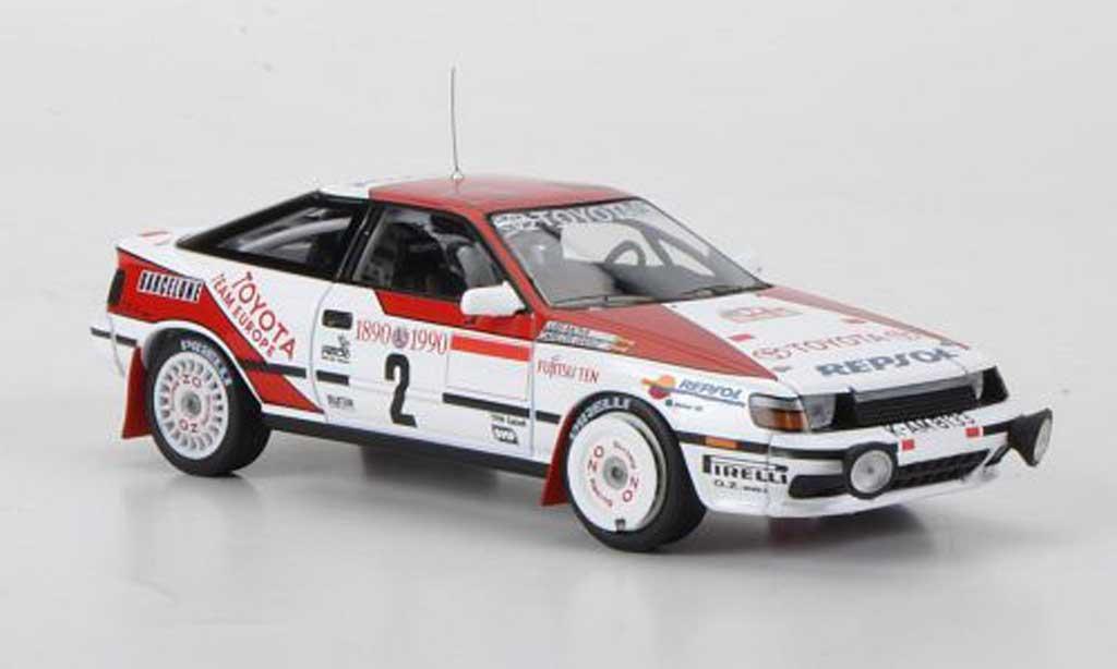 Toyota Celica GT Four 1/43 HPI 1990 No.2 Repsol C.Sainz / L.Moya Rally Monte Carlo miniature