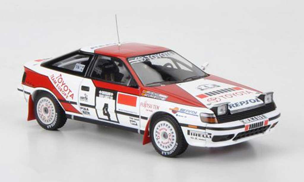 Toyota Celica GT Four 1/43 HPI 1990 No.4 Repsol C.Sainz / L.Moya Rally 1000 Lakes miniature