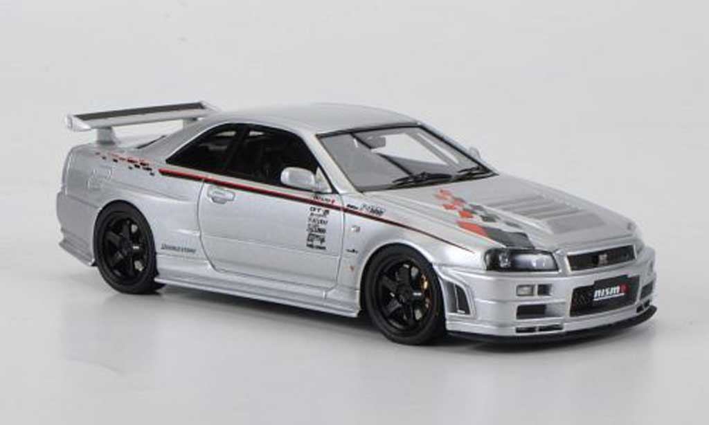 Nissan Skyline R34 1/43 HPI GT-R Z-tune Prougeotyp RHD 2000 miniature