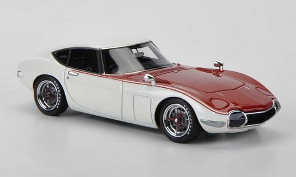 Toyota 2000 GT 1968 1/43 HPI Testfahrzeug SCCA diecast