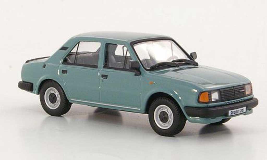 Skoda 120 1/43 Abrex L grisegrun 1986 miniature
