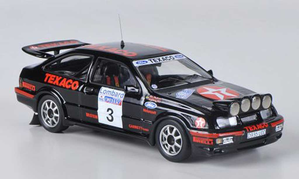 Ford Sierra Cosworth RS 1/43 Trofeu No.3 Texaco S.Blomquist / B.Berglund RAC Rally diecast model cars