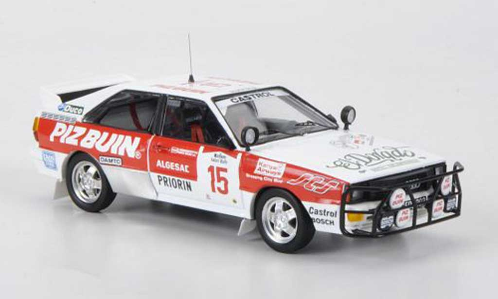 Audi Quattro 1/43 Trofeu No.15 Piz Buin F.Wurz / C.Brandstetter Safari Rally 1984 diecast