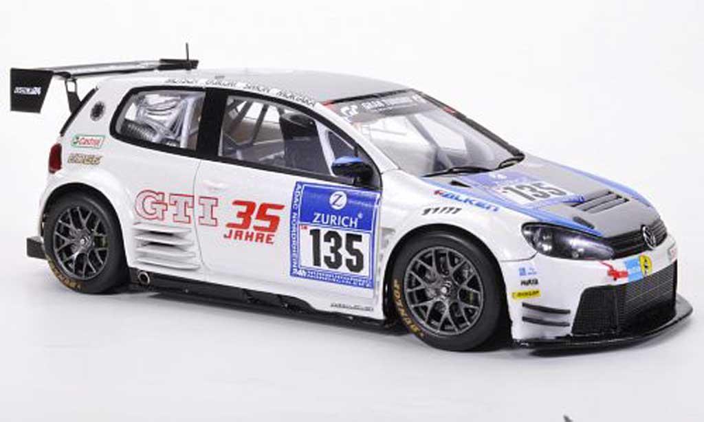 Volkswagen Golf VI 1/43 Spark 24 No.135 Mutsch / Ekblom / Simon / Mortara 24h ADAC Nurburgring 2011 diecast