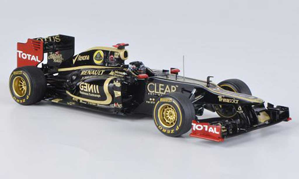Lotus F1 2012 1/43 Spark E20 No.9 K.Raikkonen GP Monaco 2012 miniatura