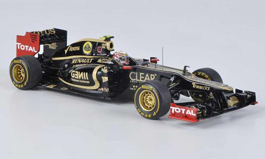 Lotus F1 2012 1/43 Spark E20 No.10 R.Grosjean GP Monaco 2012 miniatura