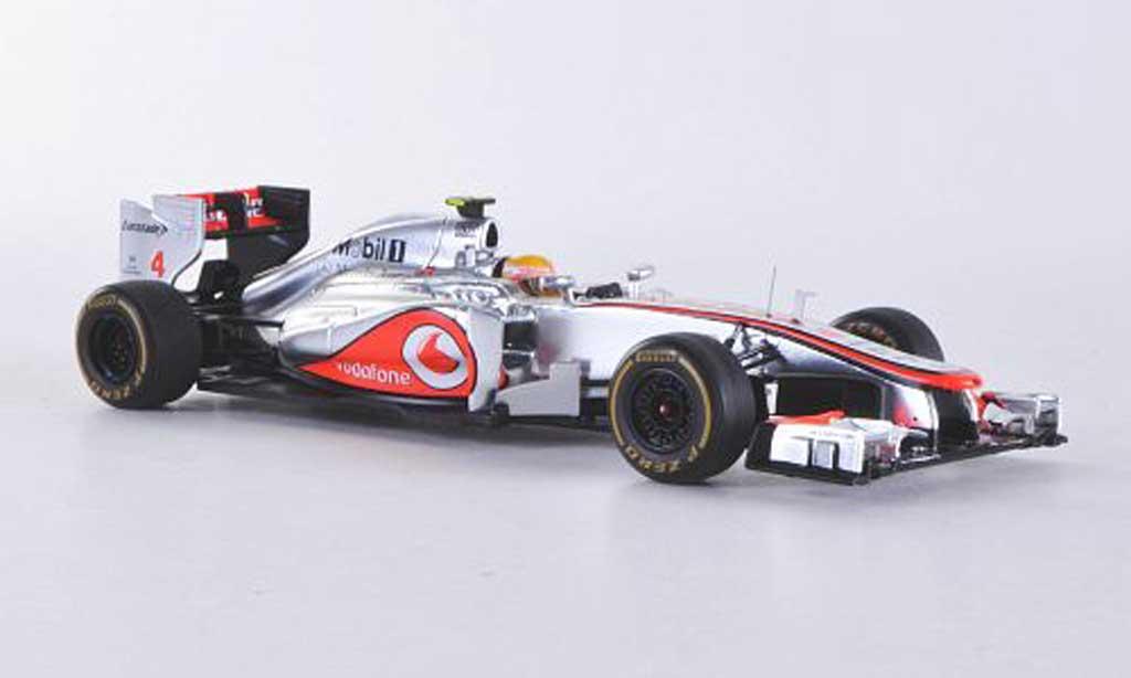 McLaren F1 2012 1/43 Spark MP4-27 No.4 Vodafone L.Hamilton GP Monaco miniature