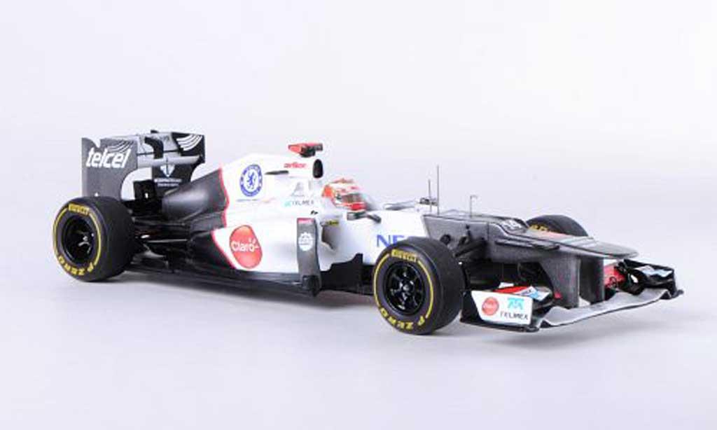 Sauber F1 2012 1/43 Spark C31 - Ferrari No.14 K.Kobayashi GP Monaco