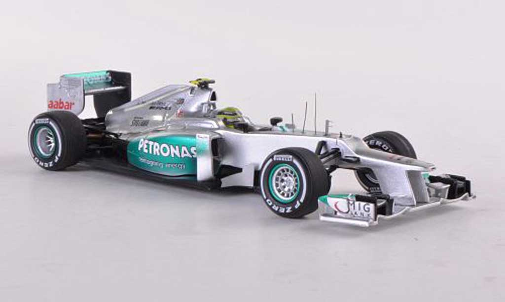 Mercedes F1 2012 1/43 Spark AMG W03 No.8 Petronas N.Rosberg GP China